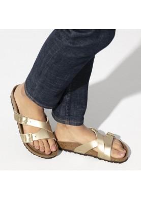 Birkenstock Pantofle Yao Gold