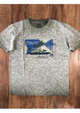 Pioneer pánské tričko s proužkem