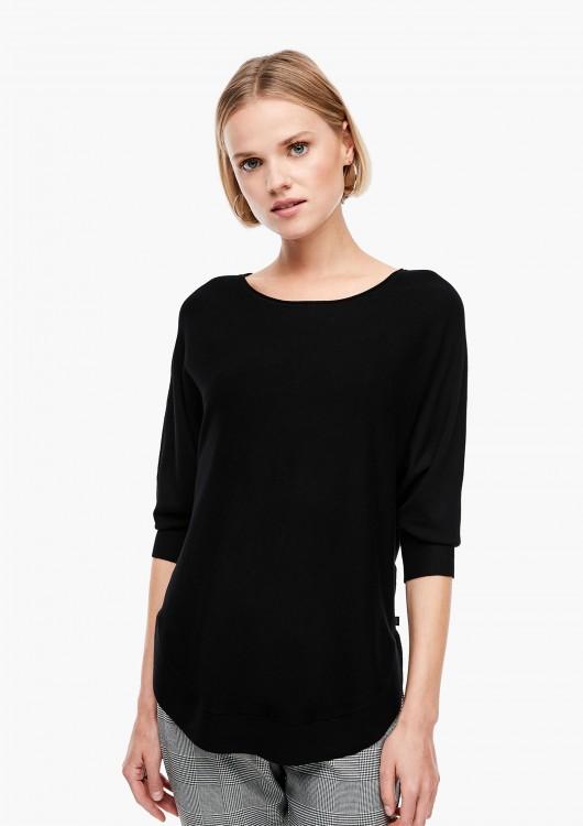 s.Oliver Q/S dámský svetr s netopýřími rukávy
