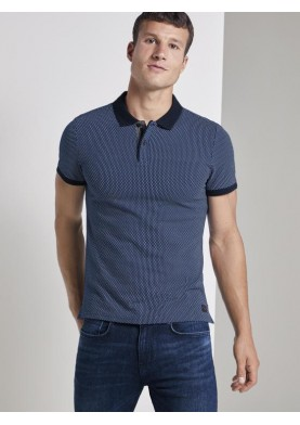 Tom Tailor pánské tričko s límečkem