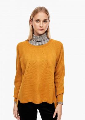 s.Oliver dámský svetr s lesklou nitkou