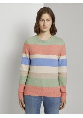 Tom Tailor Denim dámský barevný svetr
