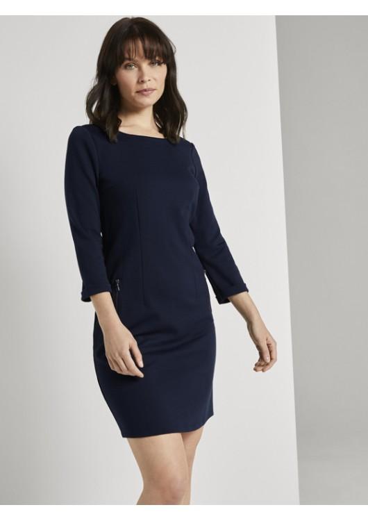 Tom Tailor dámské šaty s 3/4 rukávem
