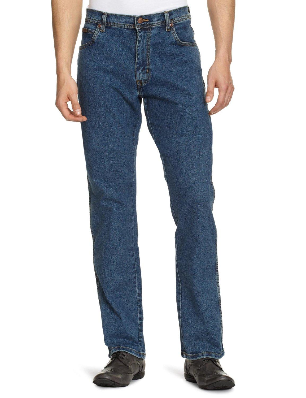 Wrangler pánské kalhoty (jeansy) Texas Strech W12133010 Modrá W36/L32