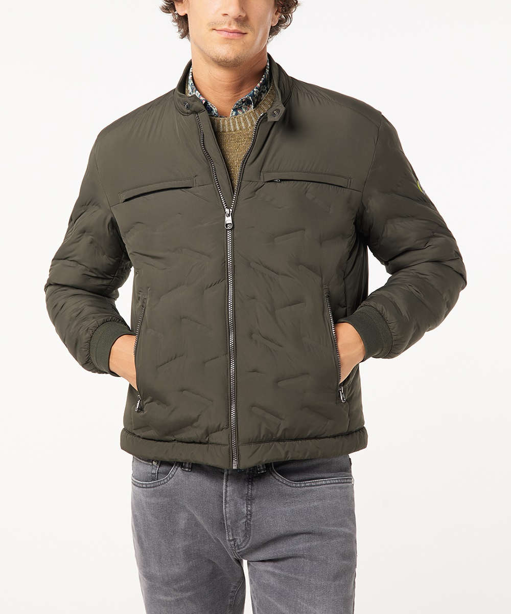 Pierre Cardin pánská zimní bunda 4742/6440 Zelená 54