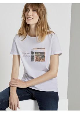 Tom Tailor dámské tričko s krátkým rukávem