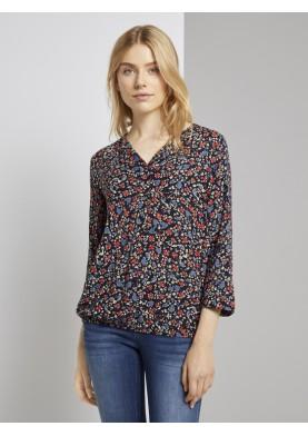Tom Tailor Denim dámská bluzů s 3/4 rukávem
