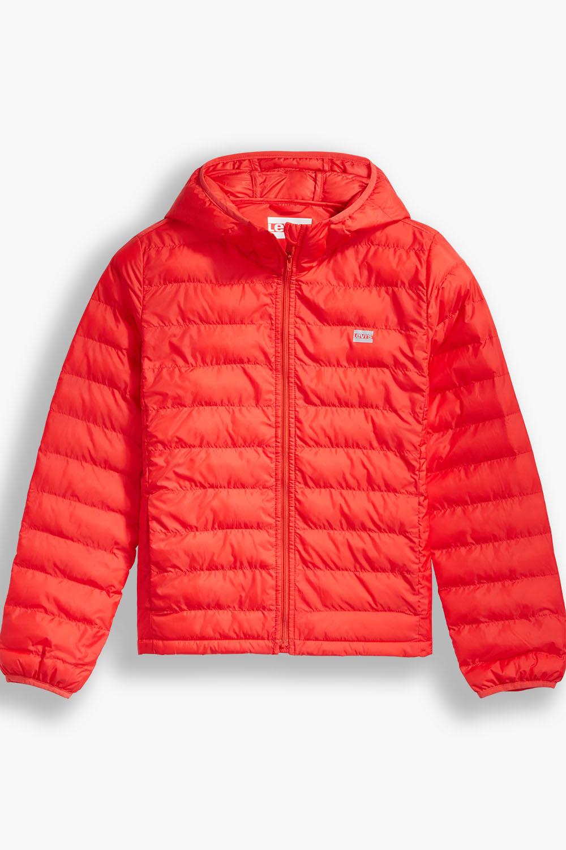 Levis dámská zimní bunda s kapucí 26858-0001 Červená S