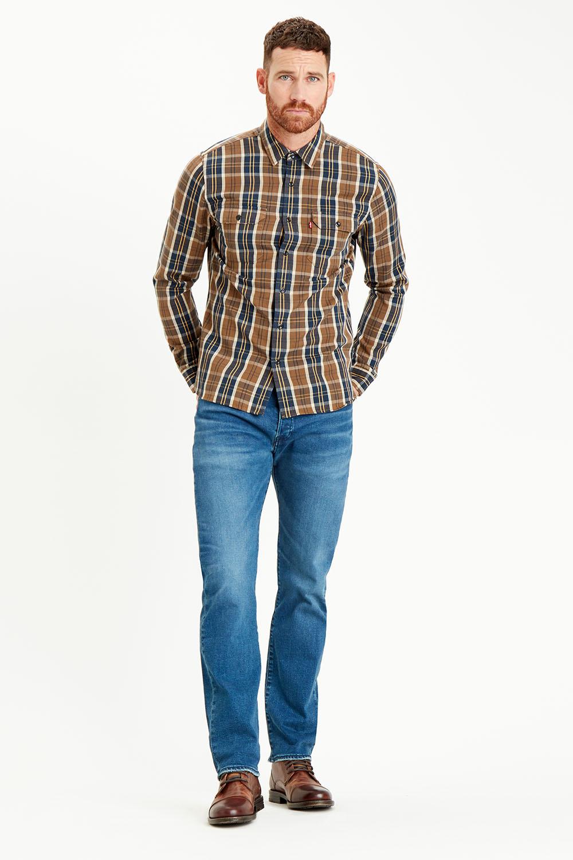 Levis pánské džíny 501 Original 00501-2991 Modrá W36/L30