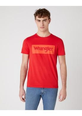 Wrangler pánské triko s logem
