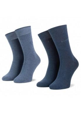 Bugatti pánské ponožky sada 2 párů