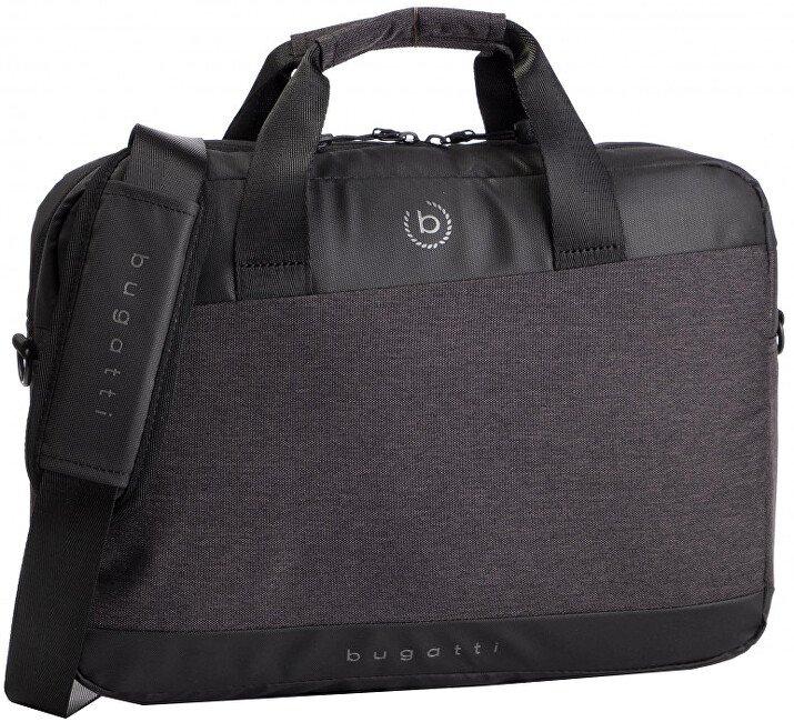 Bugatti pánská taška na notebook 49392901 Černá