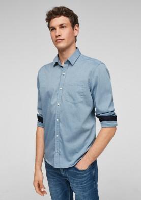 s.Oliver pánská košile s dlouhým rukávem