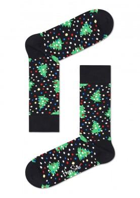 Happy Socks barevné ponožky s vánočním motivem