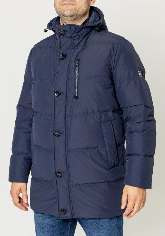 Pierre Cardin pánská péřová bunda 4716/3000 Modrá 50