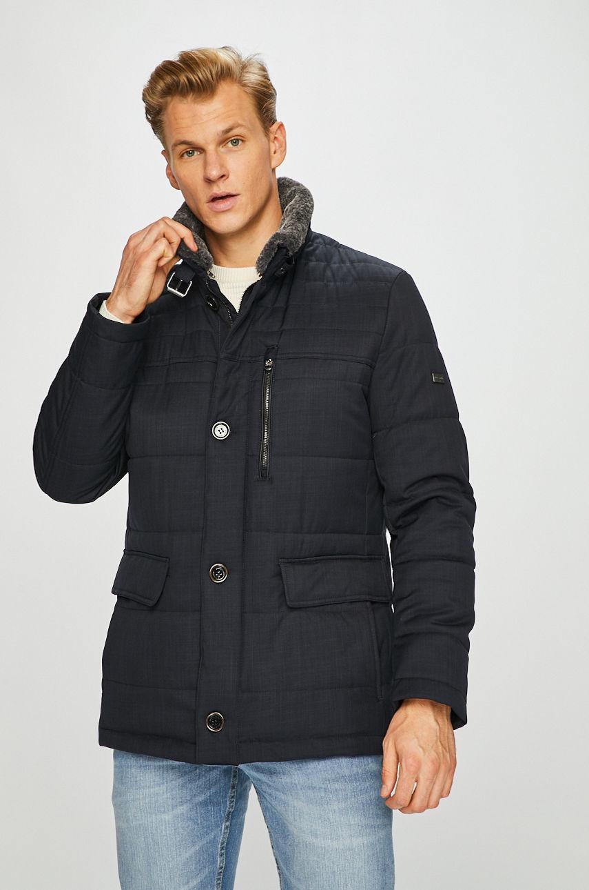 Pierre Cardin pánská zimní bunda 67390/3917/3000 Modrá 58