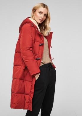 s.Oliver dlouhý zimní kabát