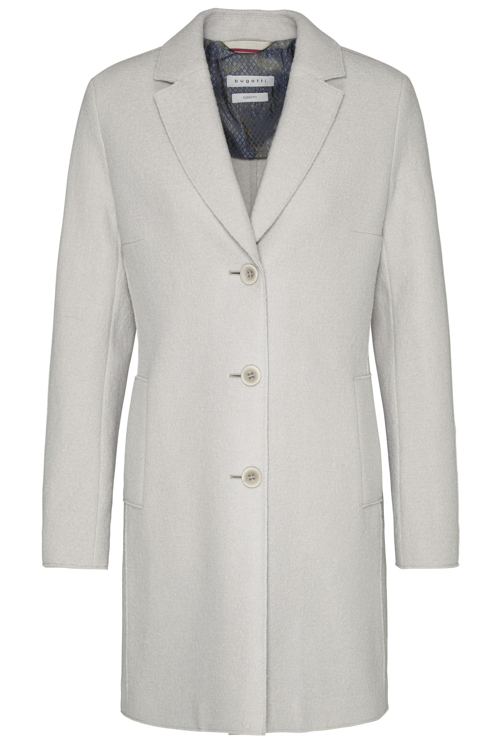 Bugatti dámský kabát 64088/30 Šedá 36