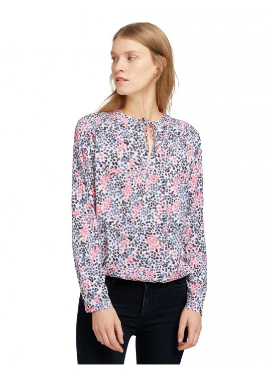 Tom Tailor dámské triko s květinovým potiskem