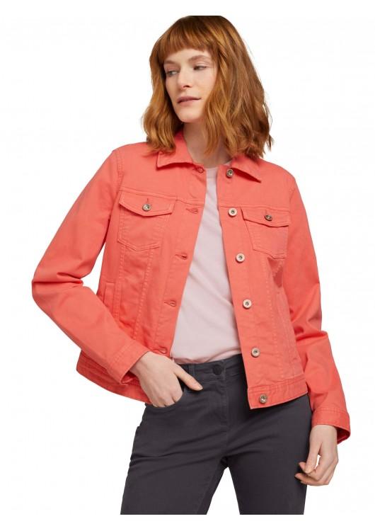 Tom Tailor dámská džínová bunda barevná