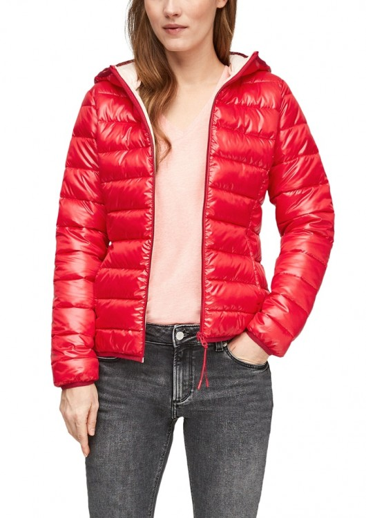 s.Oliver Q/S dámská jarní bunda s kapucí