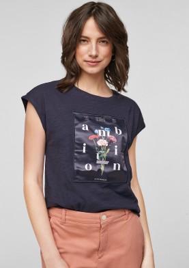 s.Oliver dámské triko s květinovým vzorem