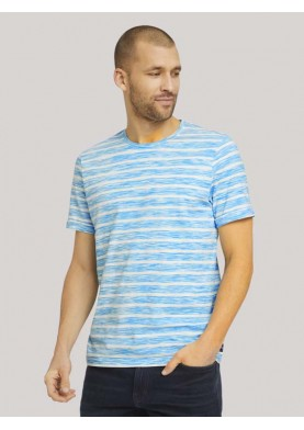 Tom Tailor pánské triko s proužkem