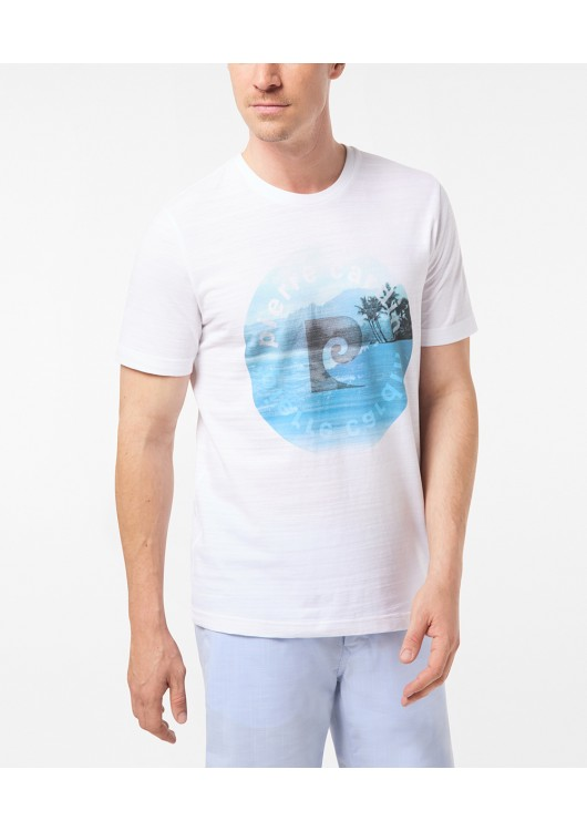 Pierre Cardin pánské triko s potiskem