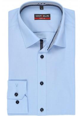 Marvelis pánská košile Body Fit s prodlouženým rukávem