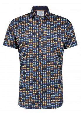 A Fish Named Fred pánská košile s krátkým rukávem