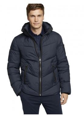 Tom Tailor pánská zimní bunda s kapucí