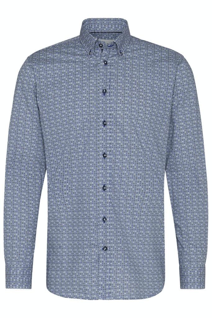 Bugatti pánská košile 88822 350 Modrá L