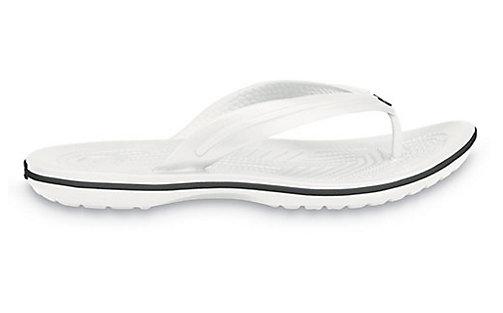 Crocs Crocband Flip White Bílá 39-40