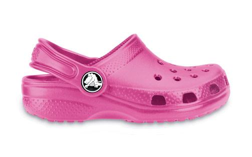 Crocs Classic Kids Fuchsia Růžová 27-28