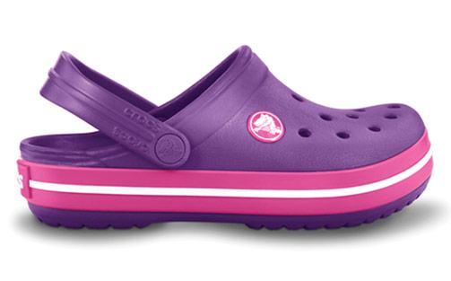 Crocs Crocband Kids Dahlia/Fuchsia Fialová 27-28
