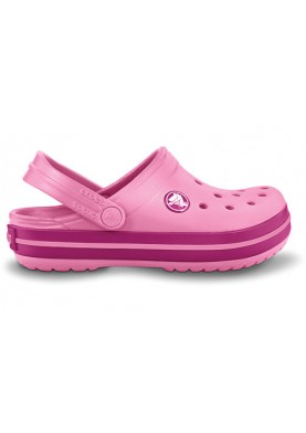 Crocband kids pink lemonade