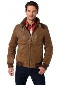 Tom Tailor kožená bunda