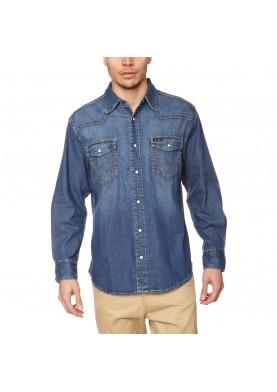Wrangler pánská jeansová košile W550OUA14V