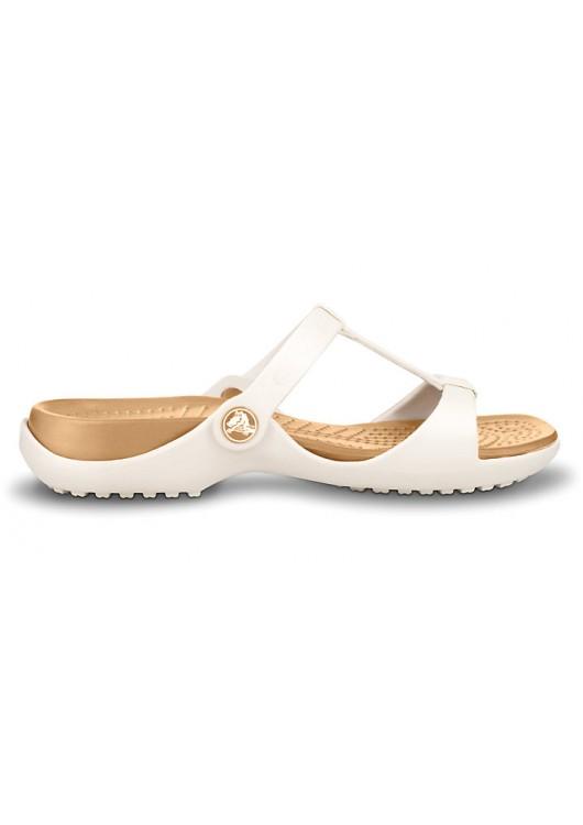 Crocs Cleo III Oyster/Gold