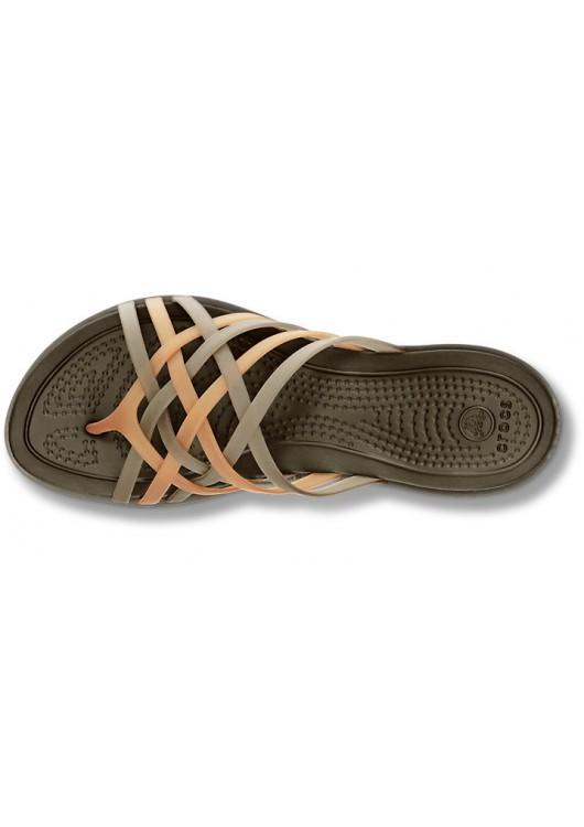 Crocs Huarache Flip Bronze