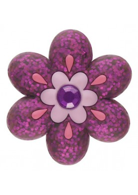 Crocs Jibbitz Sparklin Flower Viola