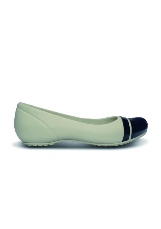 Crocs Cap Toe Flat Stuco