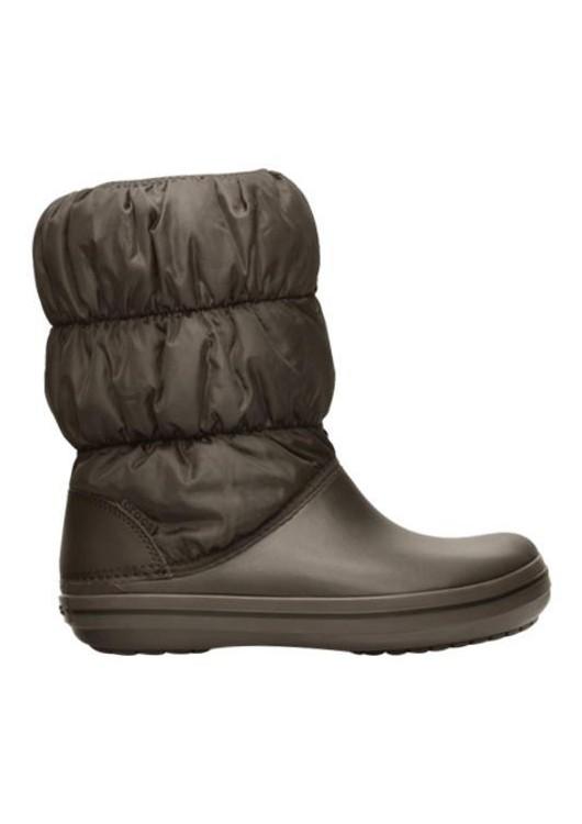 Crocs Winter Puff Boot Women Espresso