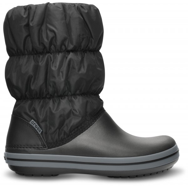 Crocs Winter Puff Boot Women Black Černá 38-39
