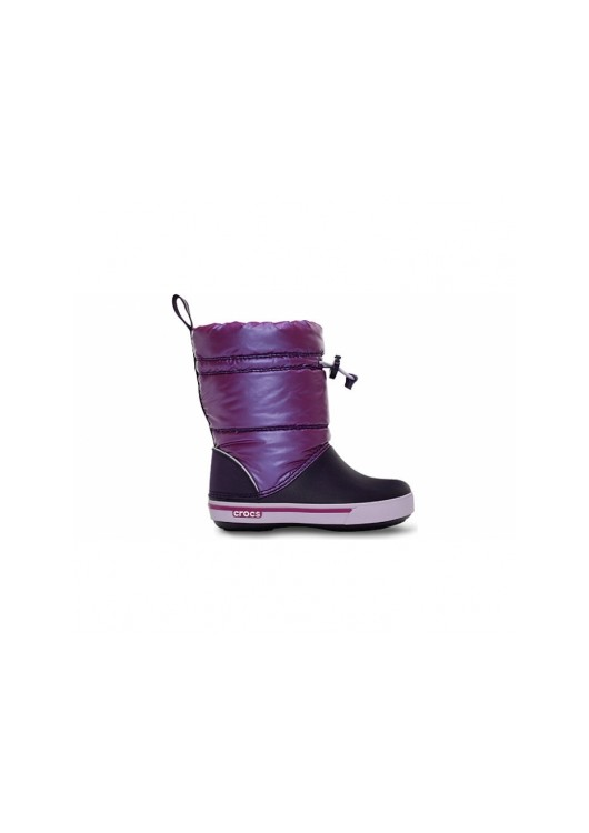 Crocband Iridescent Gust Boot Viola