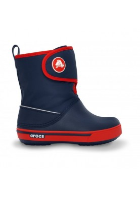 Crocband 2.5 Gust Boot Kids Navy/Red