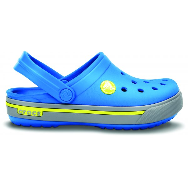 Crocs Crocband II.5 Kids Ocean/Citrus Modrá 29-31